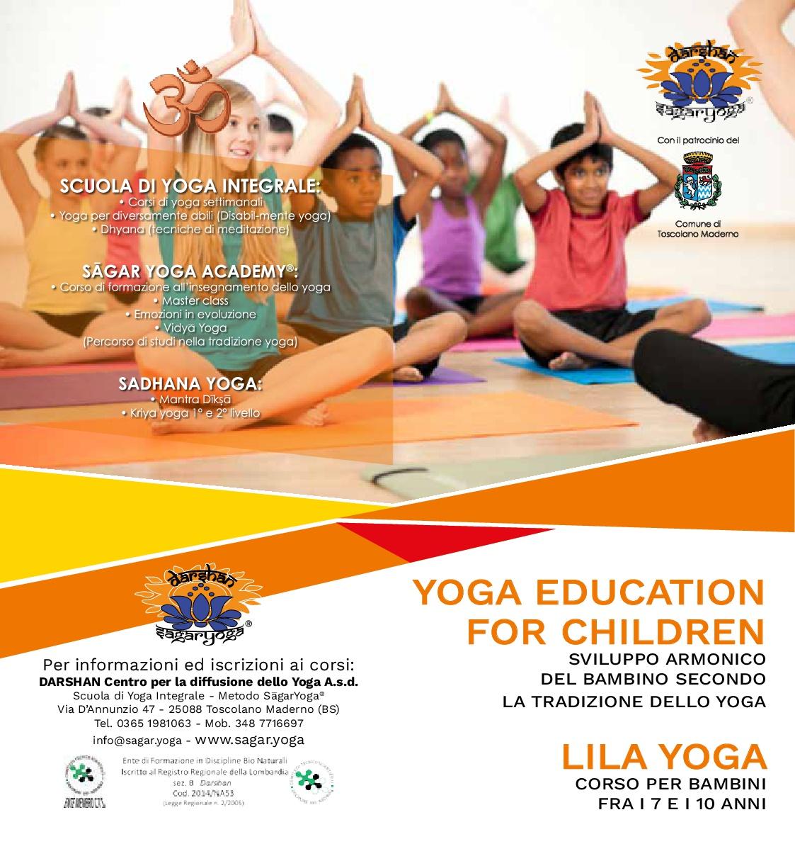 YOGA EDUCATION FOR CHILDREN - LILA YOGA